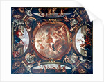 Justice Ensures Peace and Protects the Arts by Bon de Boulogne