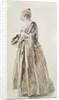 Standing Woman by Jean Antoine Watteau