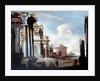 Principal monuments of Ancient Rome: Temple of Vesta by Viviano Codazzi