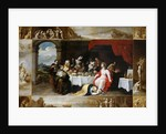 Christ in the House of Simon the Pharisee by Frans II the Younger Francken