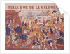 Gold Mines of California by French School