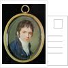 Miniature Portrait of Ludwig Van Beethoven by Christian Hornemann