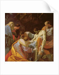 The Entombment of Christ by Simon Vouet