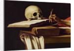 St. Jerome Writing by Michelangelo Merisi da Caravaggio