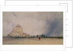 Mont Saint Michel by Richard Parkes Bonington