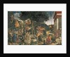 The Youth of Moses, in the Sistine Chapel, 1481 by Sandro (1444/5-1510) Botticelli