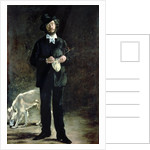 The Artist, or Portrait of Gilbert Marcellin Desboutin by Edouard Manet