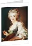 Portrait of Anne Vallayer-Coster by Alexander Roslin