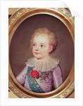 Portrait of Dauphin Louis by Adolf Ulrich Wertmuller