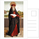 St. Anthony the Hermit by Swiss School