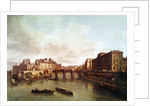 The Pont Neuf, Ile de la Cite, Paris Mint and Conti Quay by Guiseppe Canella