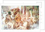 Francis I drives out the Vices and enters the Temple of Jupiter by Giovanni Battista Rosso Fiorentino