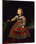 The Infanta Maria Margarita of Austria as a Child by Diego Rodriguez de Silva y Velazquez