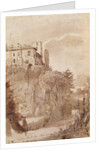 A road outside the walls of Rome by Claude Lorrain
