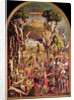 The Crucifixion and the Glorification of the Ten Thousand Martyrs on Mount Ararat by Vittore Carpaccio