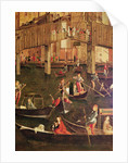 Detail of the Miracle of the Relic of the True Cross on the Rialto Bridge by Vittore Carpaccio