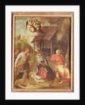Adoration of the Shepherds by Correggio