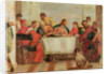 Detail of The Feast in the House of Levi by Veronese