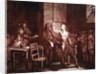 The Final Speech of Joseph Chalier by French School