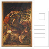 The Raising of Lazarus by Jacopo Robusti Tintoretto