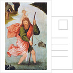 Saint Christopher by Hieronymous Bosch