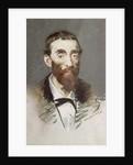 Ernest Cabaner by Edouard Manet