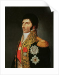 Portrait of Marshal Charles Jean Bernadotte by Johann Jacob de Lose