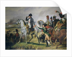 The Battle of Wagram by Emile Jean Horace Vernet