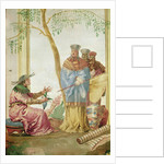 A Chinese Prince before a Soothsayer by Giandomenico Tiepolo