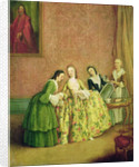 Lady Dressing, or Lady at her Toilet by Pietro Longhi