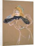 Yvette Guilbert singing 'Linger, Longer, Loo' by Henri de Toulouse-Lautrec