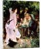 In the Garden, or Under the Trees of the Moulin de la Galette by Pierre Auguste Renoir