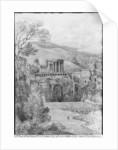 Temple of the Sibyl, Tivoli by Louis Francois Cassas