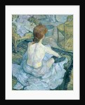 Woman at her Toilet by Henri de Toulouse-Lautrec
