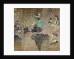 Dancing at the Moulin Rouge: La Goulue by Henri de Toulouse-Lautrec