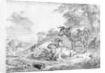 Three Cows by Nicolaes Pietersz. Berchem