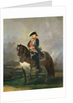 Equestrian portrait of King Carlos IV by Francisco Jose de Goya y Lucientes