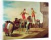 The Stilts by Francisco Jose de Goya y Lucientes