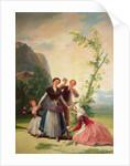 The Florists by Francisco Jose de Goya y Lucientes