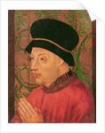 Portrait of King John I of Portugal by Portuguese School