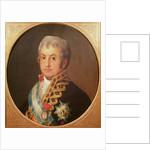 Portrait of José Antonio, Marqués de Caballero by Francisco Jose de Goya y Lucientes