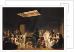 A Game of Billiards by Louis Leopold Boilly