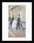 First Communion Day by Henri de Toulouse-Lautrec
