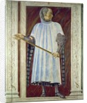 Niccolo Acciauoli from the Villa Carducci series of famous men and women by Andrea del Castagno
