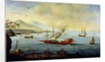 Galleon Laid up in Port by Pierre Puget