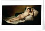 The Naked Maja by Francisco Jose de Goya y Lucientes