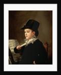 Portrait of Marianito Goya, Grandson of the Artist by Francisco Jose de Goya y Lucientes
