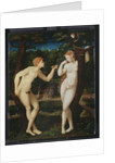 Adam and Eve by French School