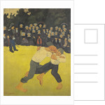 The Wrestling Bretons by Paul Serusier