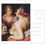 Venus and Adonis by Cornelis Cornelisz. van Haarlem